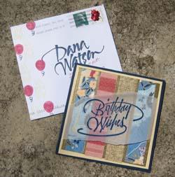 Dana's Birthday Card2008