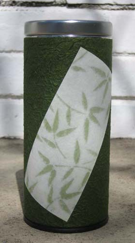 Green Bamboo Tin
