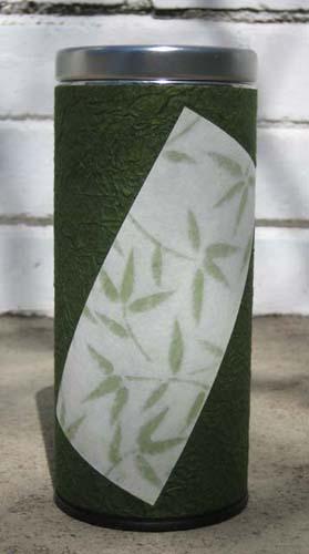 Green BambooTin