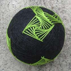 Swirl Ball in Progress