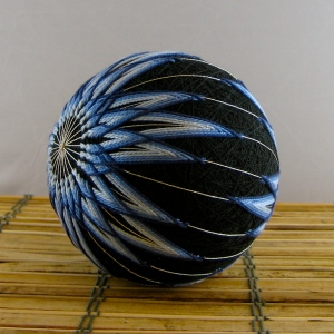 Blue Mum, side view