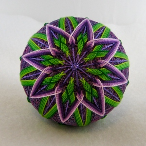 Flower, center view
