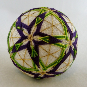 Purple and green HHG ball