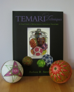 Temari Techniques, with test balls
