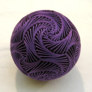 Purple all-over swirl
