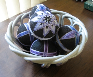 New temari bowl!