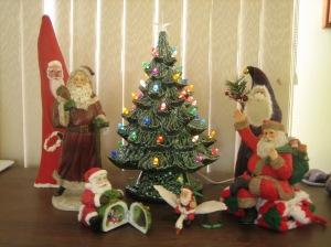 Tree and Santas