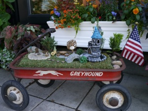 Fairy garden on the go.