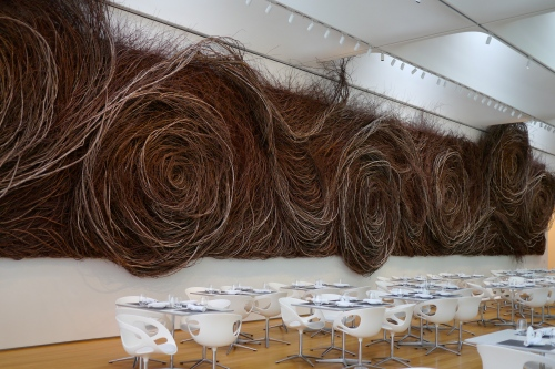 Patrick Dougherty stick installation