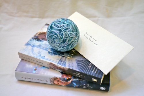 Books 2 & 3, with temari and letter