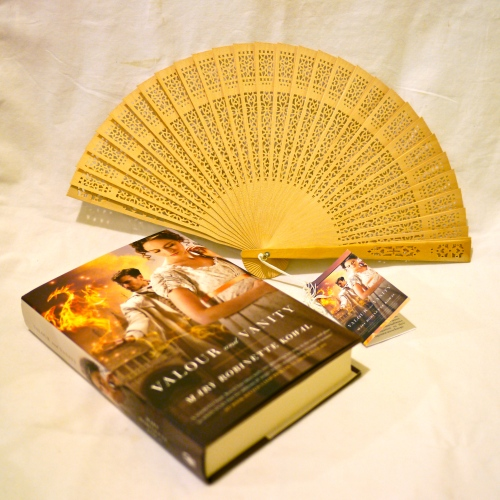 Book 4 and fan