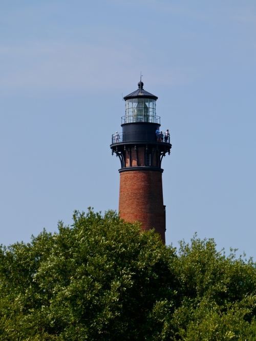 From the Whalehead Club, with the zoom lens.