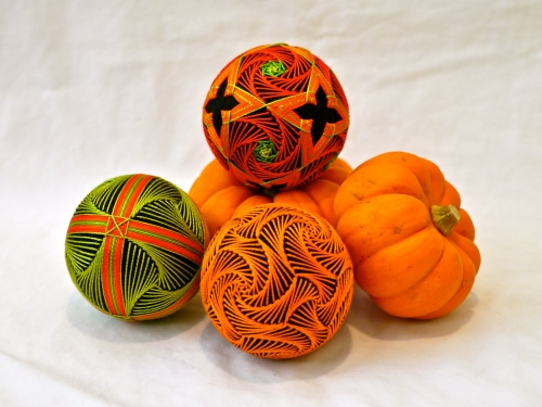 The whole pumpkin set