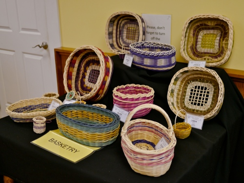 Basketry student showcase