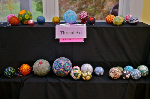 A selection of temari from our class