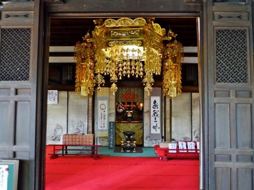 One of the meditation halls.