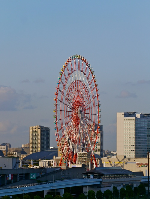 Daikanransha, briefly the world's tallest ferris wheel before the London Eye opened.