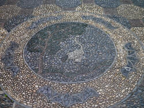 Walkway mosaic.